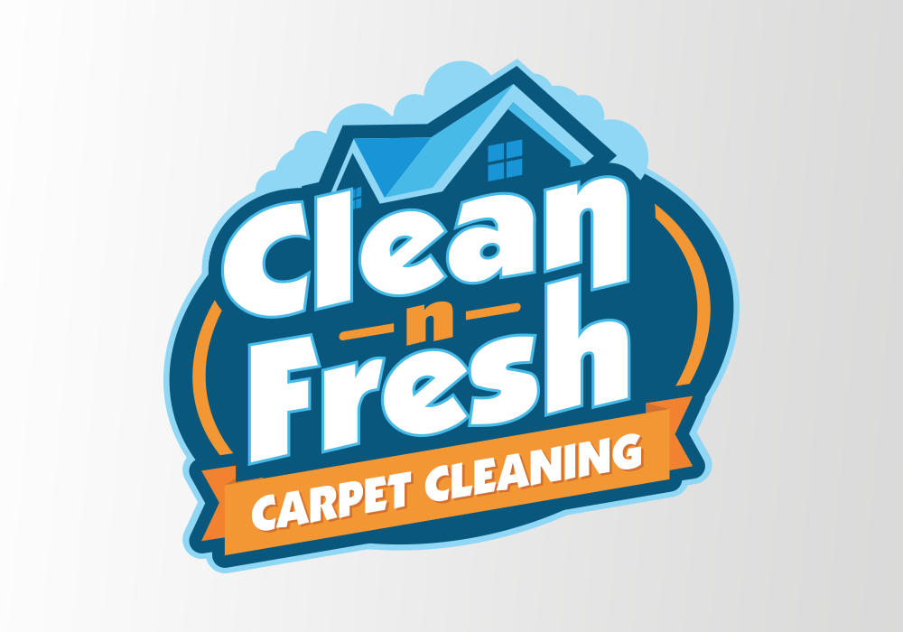 clean n fresh carpet cleaning logo design prolificprints com rh prolificprints com cleaning logo ideas cleaning logos for free