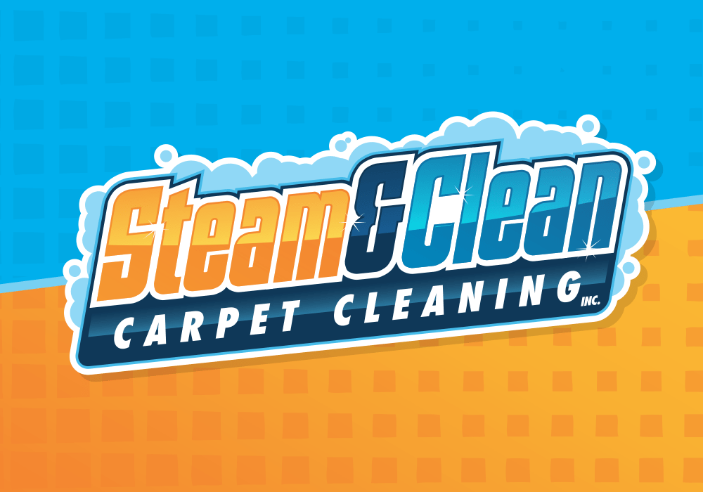 steam clean carpet cleaning logo design prolificprints com