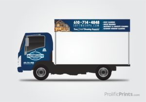 Spotless Pressure Washing Van Wrap Design Prolificprints Com